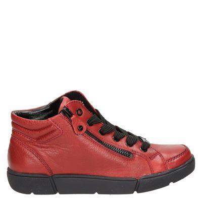 Ara dames sneakers rood