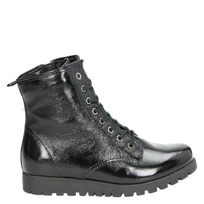 Waldläufer dames boots zwart