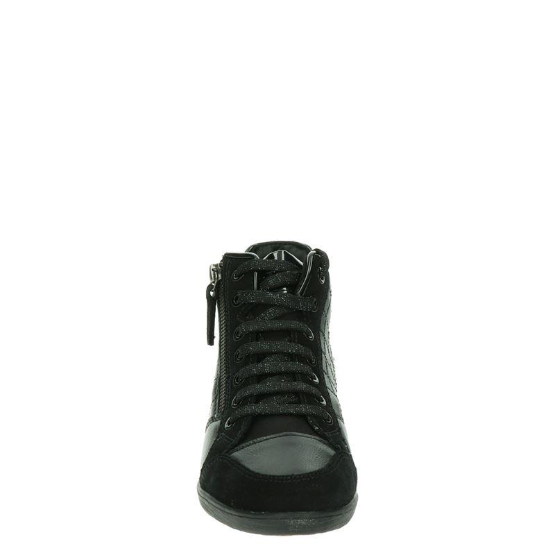 Geox Myria - Hoge sneakers - Zwart