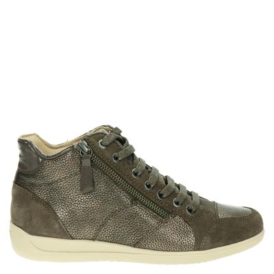 Geox dames sneakers taupe