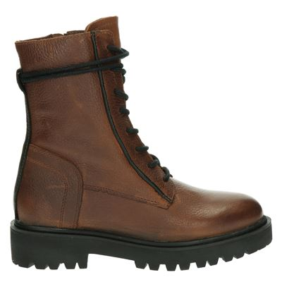 PS Poelman dames boots bruin