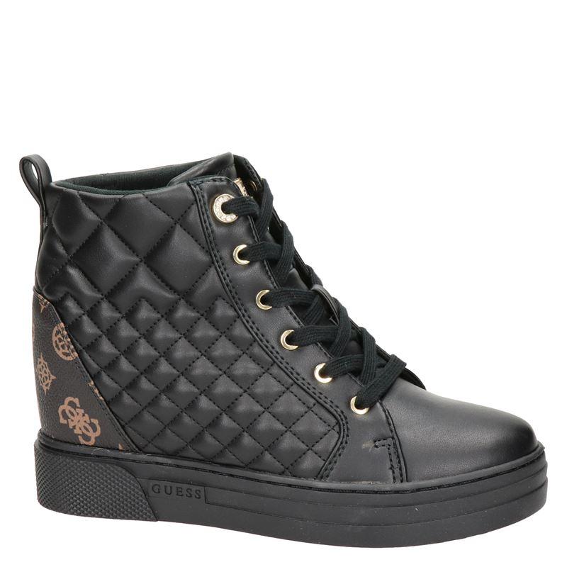 Guess - Hoge sneakers - Zwart
