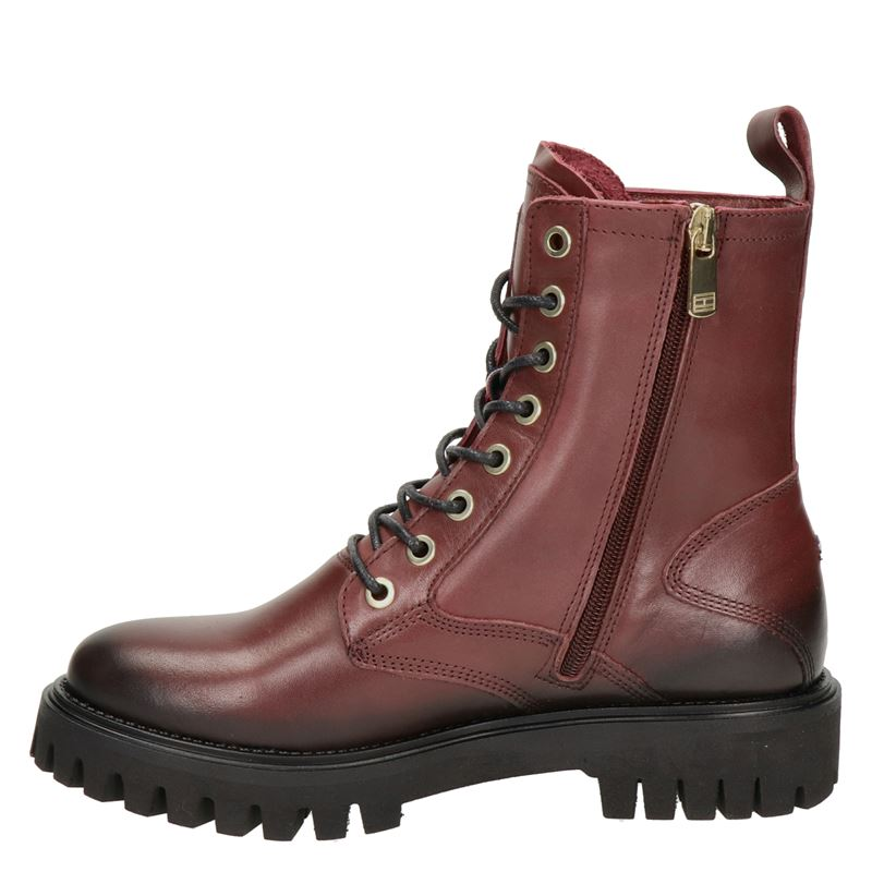 Tommy Hilfiger Sport - Veterboots - Rood