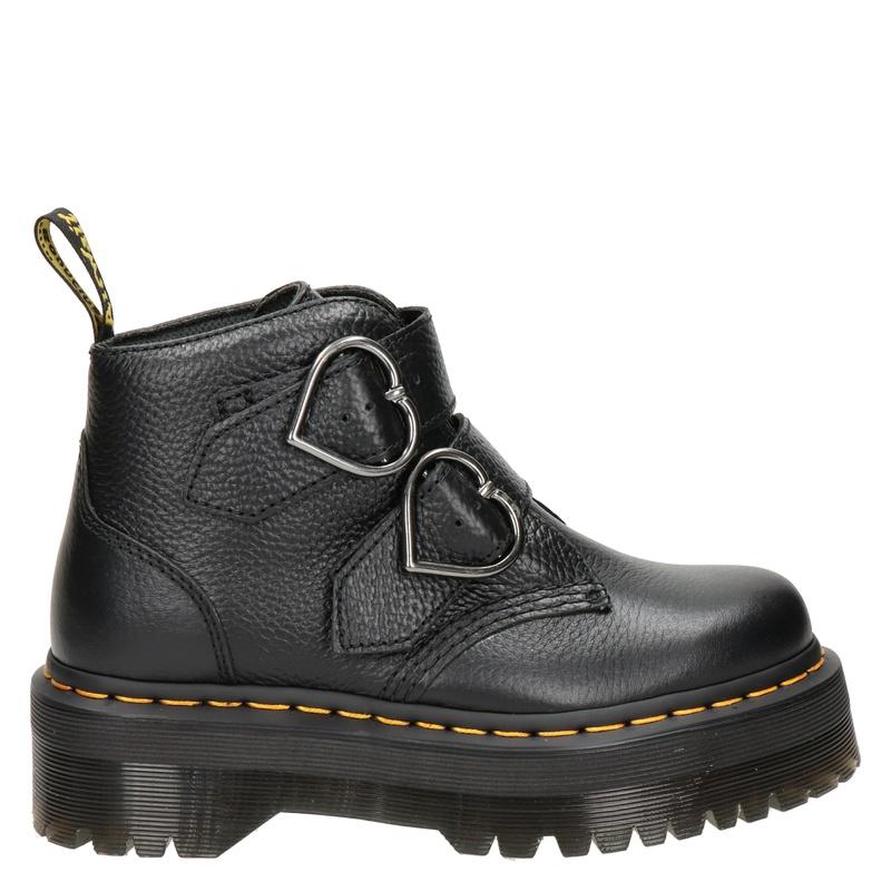 Dr. Martens Devon Heart - Rits- & gesloten boots - Zwart