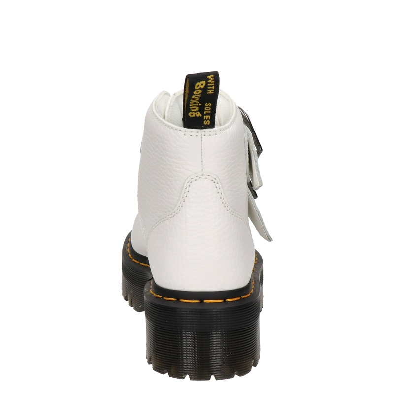Dr. Martens Devon Heart - Rits- & gesloten boots - Wit