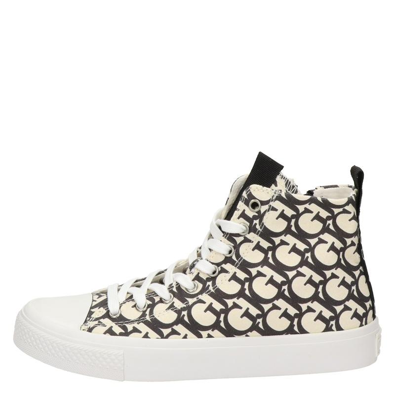 Guess Ederla - Hoge sneakers - Zwart