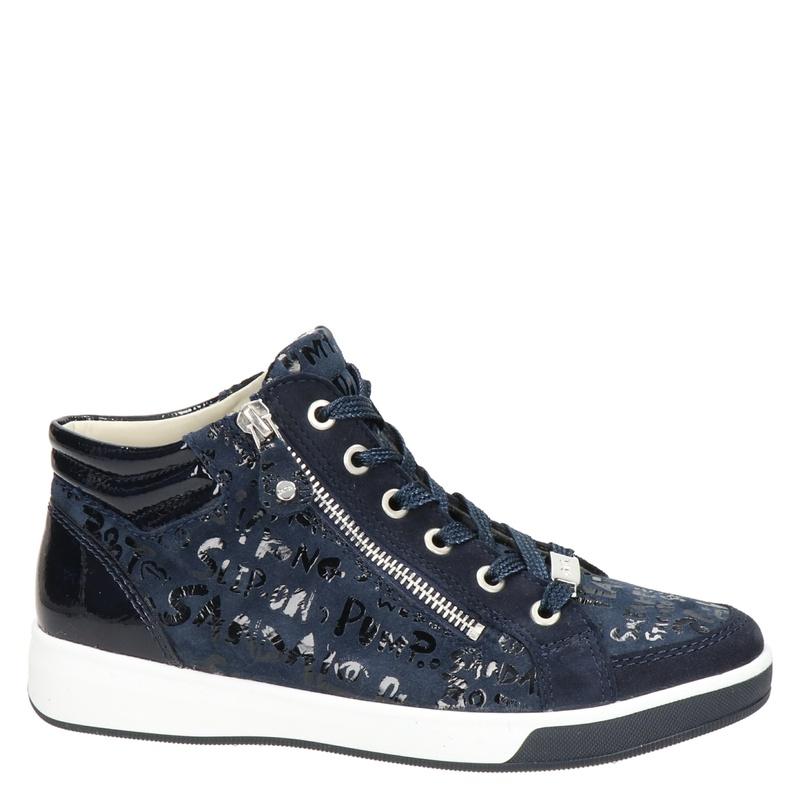 Ara - Hoge sneakers - Blauw