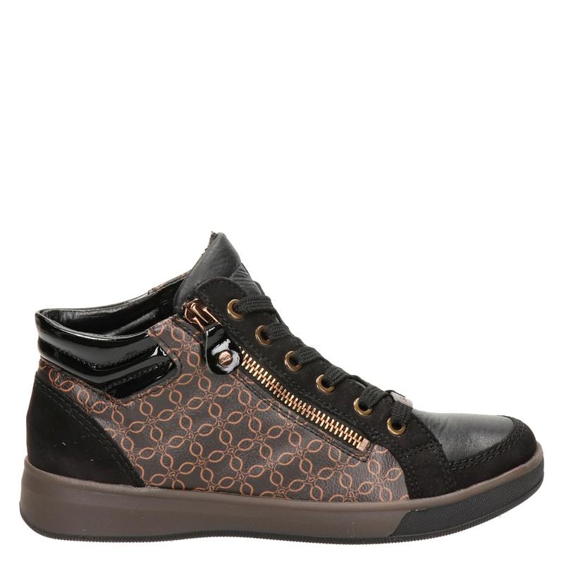 Ara - Hoge sneakers - Zwart