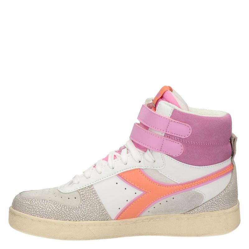 Diadora Magic Basket Mid - Hoge sneakers - Roze