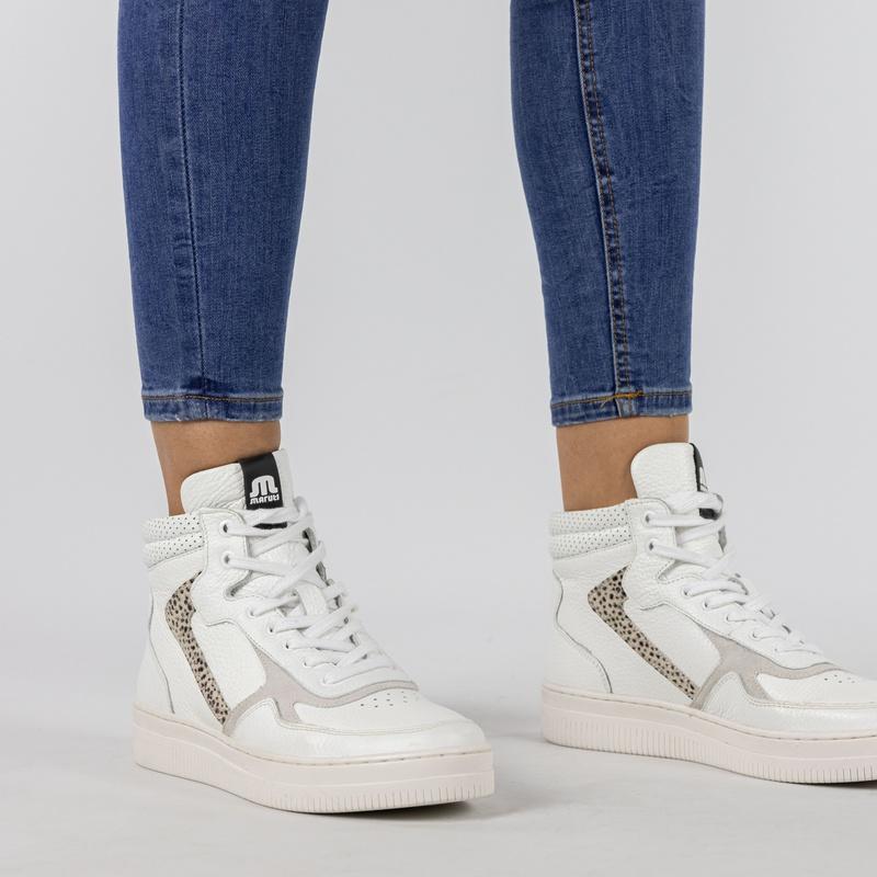 Maruti Mona - Hoge sneakers - Wit
