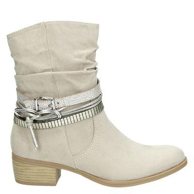 Marco Tozzi dames laarzen beige