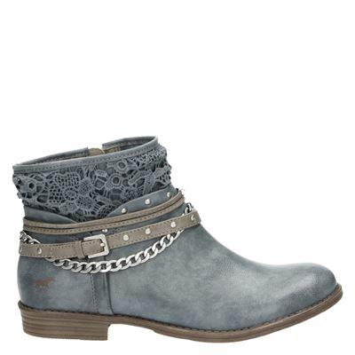 Mustang dames laarzen blauw