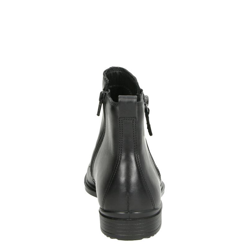 Ecco Touch - Enkellaarsjes - Zwart