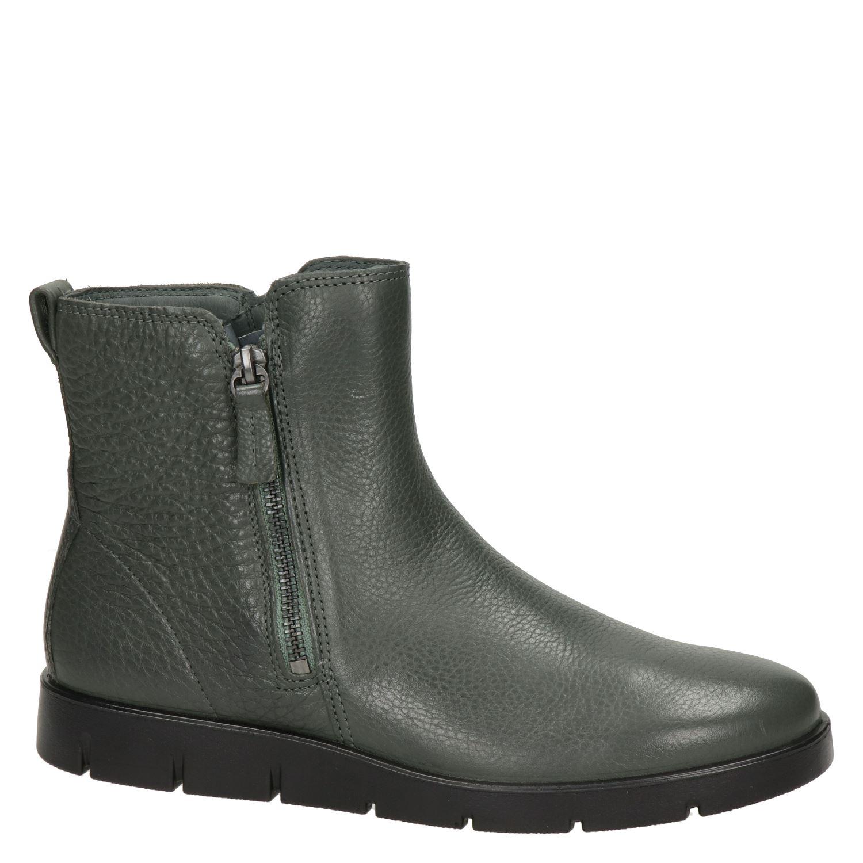 Ecco Bella - Rits- & gesloten boots voor dames - Grijs GPlJ29j