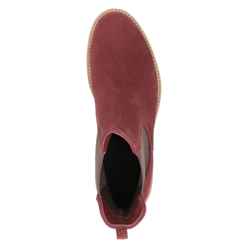 Ecco Sartorelle 25 - Chelseaboots - Rood