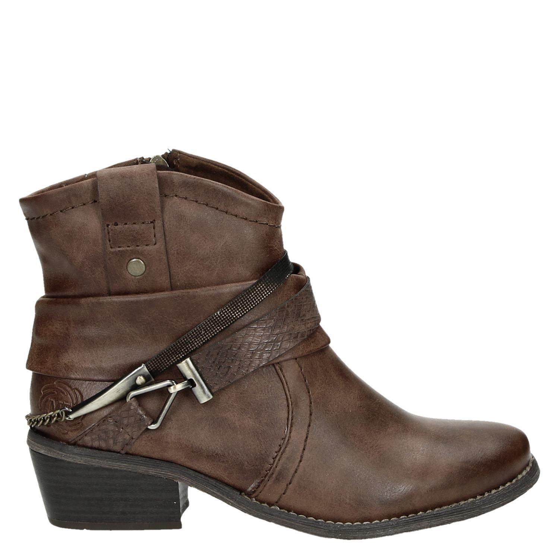 Chaussures Marron Cow-boy Taille 36 Cow-boy Avec L'entrée Pour Les Femmes I636kA3