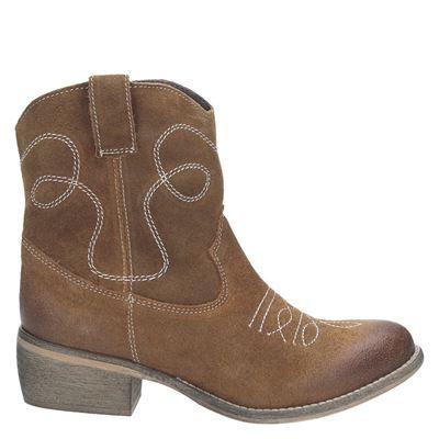 PS Poelman dames laarzen bruin