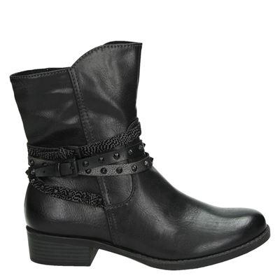 Marco Tozzi dames boots grijs
