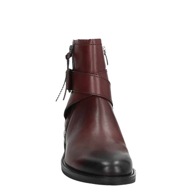 Ecco Shape 25 - Rits- & gesloten boots - Rood