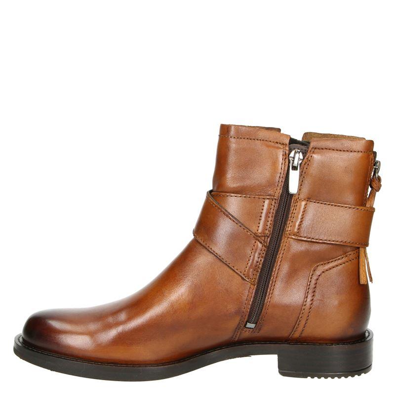 Ecco Shape 25 - Rits- & gesloten boots - Cognac
