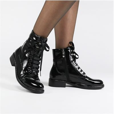 Regarde le ciel dames boots zwart