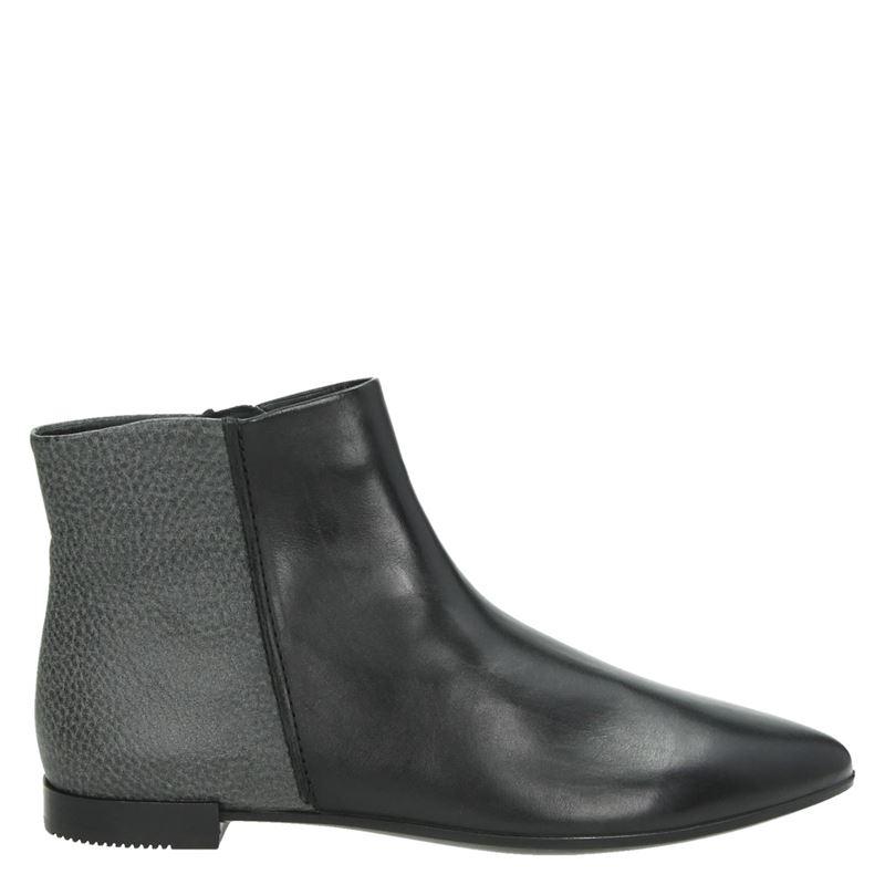 Ecco Shape pointy - Rits- & gesloten boots - Zwart