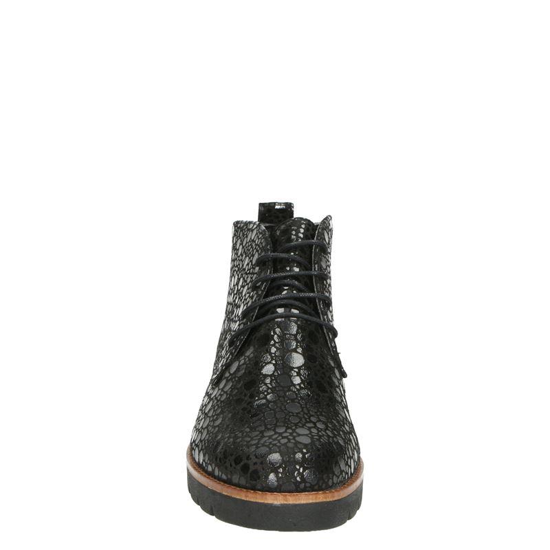 Nelson - Veterschoenen - Zwart