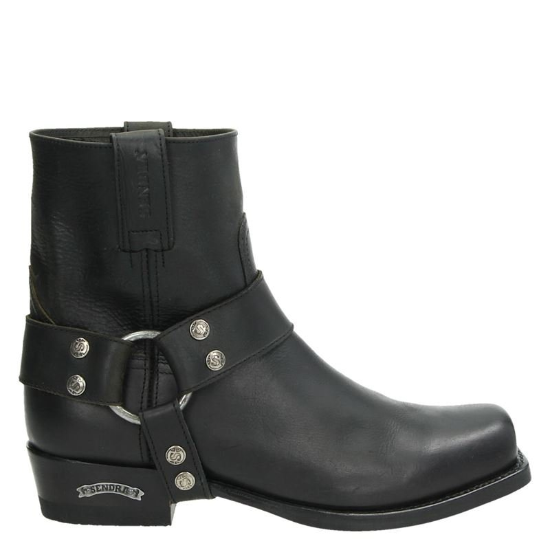 Sendra 9077 Flota Negro - Cowboylaarzen - Zwart
