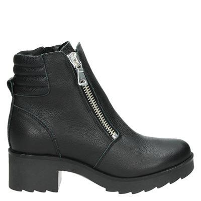 Poelman  dames boots zwart