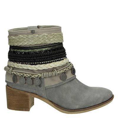 Bullboxer dames laarzen grijs