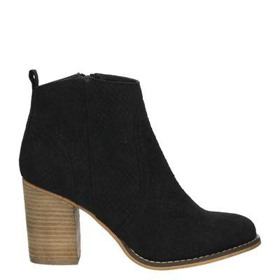 Hobb's dames laarzen zwart