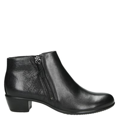 Ecco dames laarzen zwart