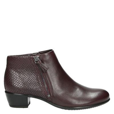 Ecco dames laarzen rood