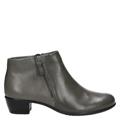 Ecco dames laarzen taupe