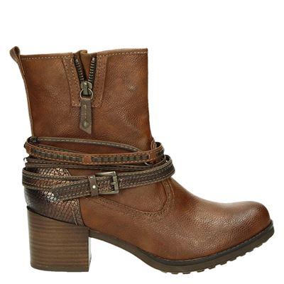 Mustang dames laarzen cognac