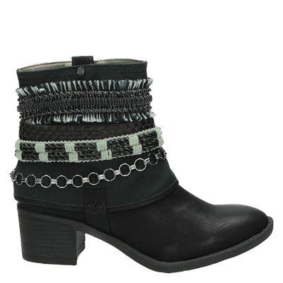 Bullboxer dames laarzen zwart