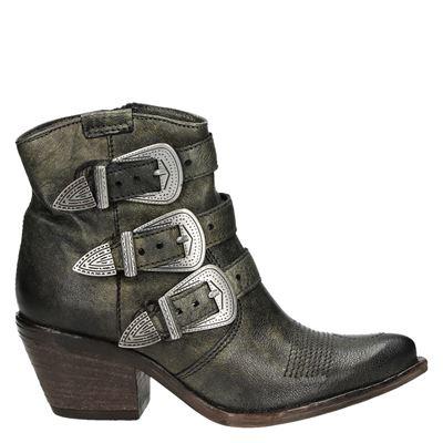 Mjus dames laarzen groen