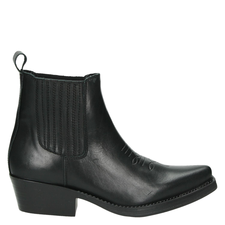 Chaussures De Cow-boy Noir De Cow-boy Pour Les Femmes pBNfr