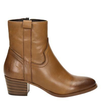 Nelson dames laarsjes & boots cognac