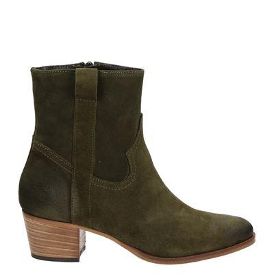 Nelson dames laarsjes & boots groen