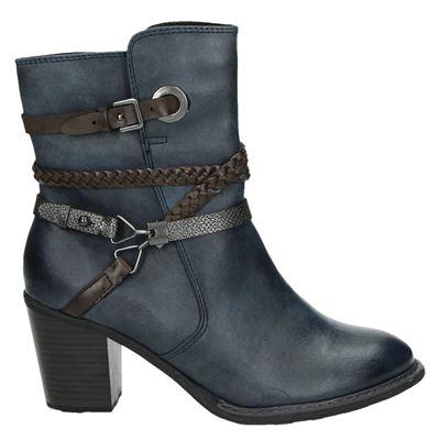 Marco Tozzi dames laarzen blauw