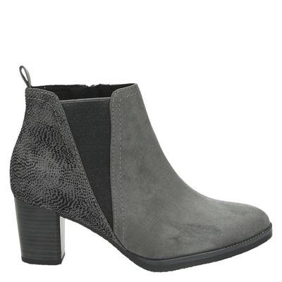Marco Tozzi dames laarzen grijs
