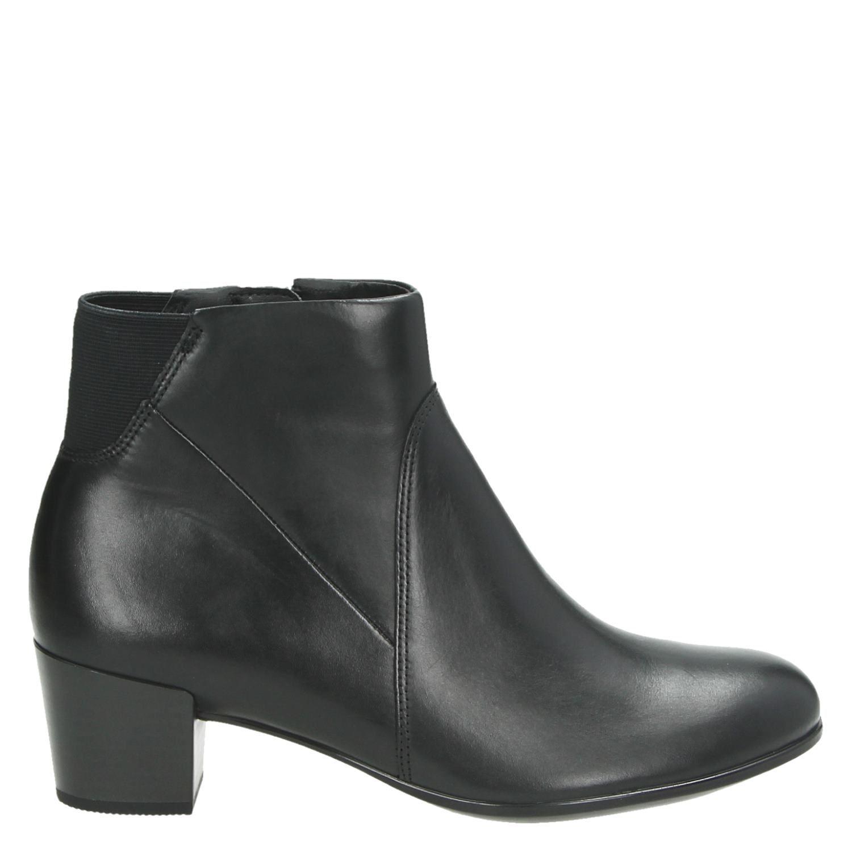 Femmes Ecco Taille 35 M Bottes - Noir - 38 Eu yT41t