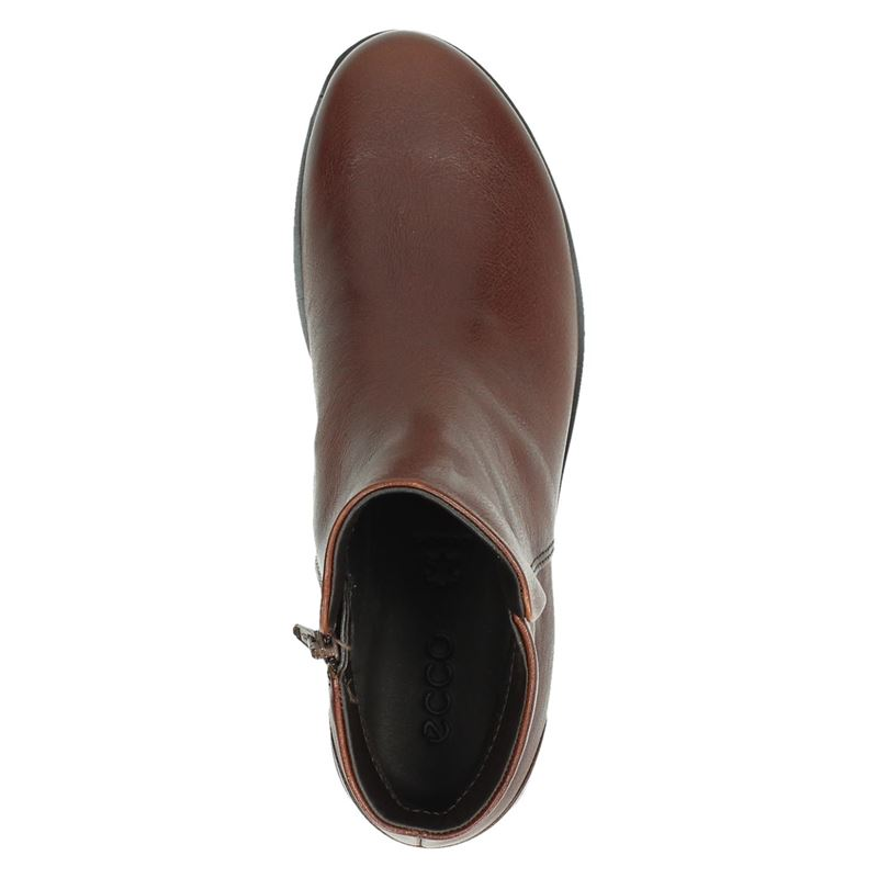 Ecco Skyler - Rits- & gesloten boots - Cognac