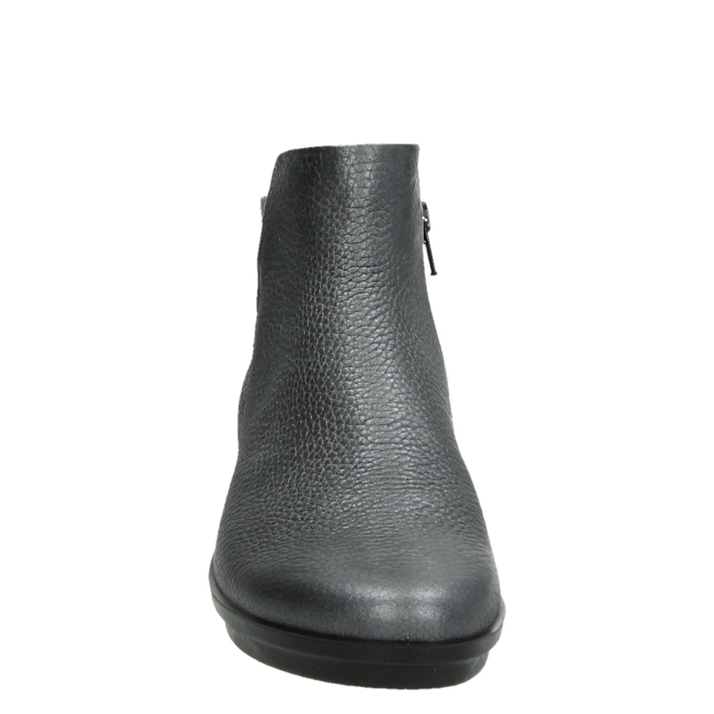 Ecco Skyler - Rits- & gesloten boots voor dames - Zilver 5i0ufhA