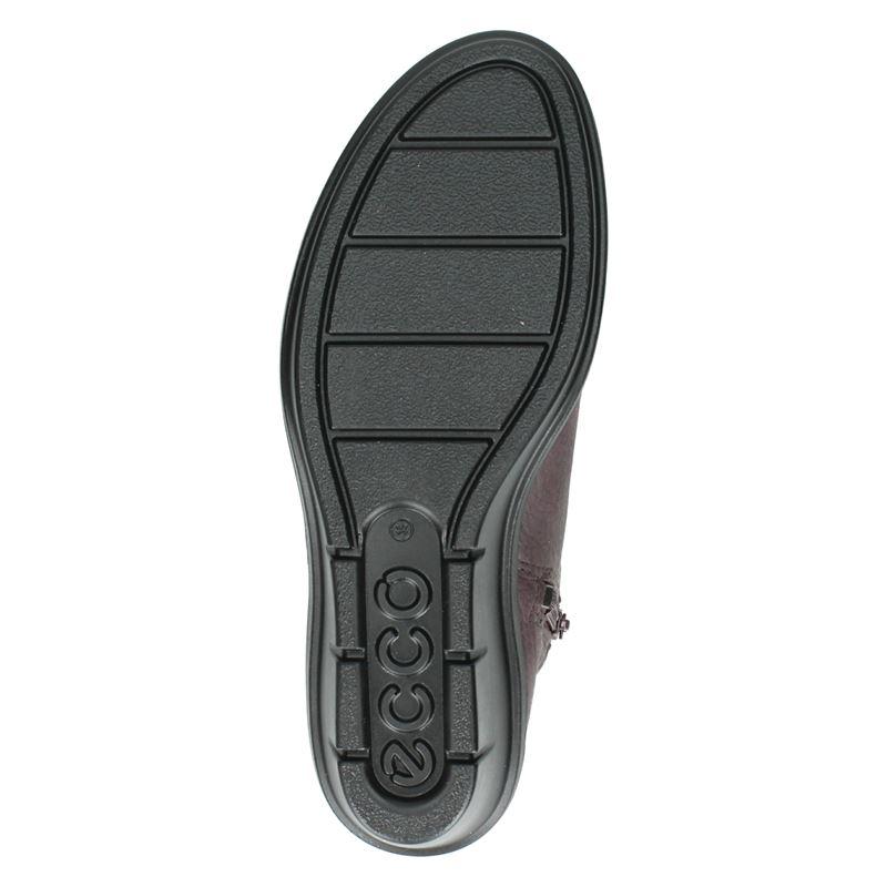 Ecco Skyler - Rits- & gesloten boots - Paars