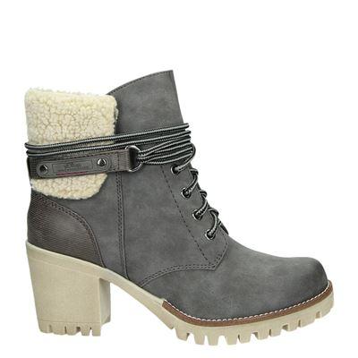 S.Oliver dames boots grijs