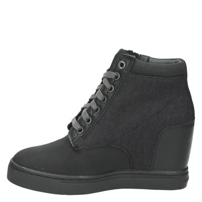 G-Star Raw dames veterboots Zwart