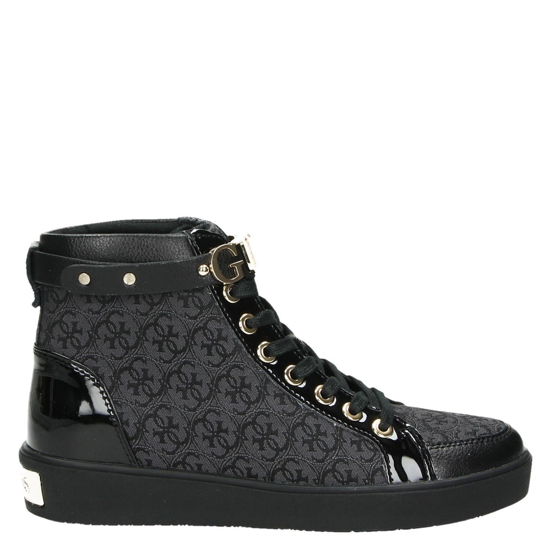 Sneakers Zwart Guess Dames Gracely Hoge OZiwPTlukX
