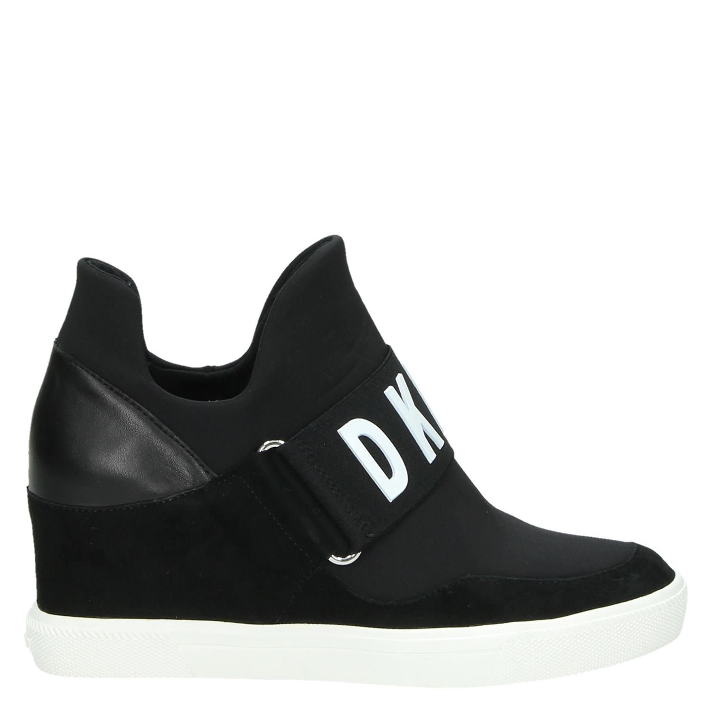 Sneakers Zwart Hoge Dkny Dames Cosmos IWH29ED